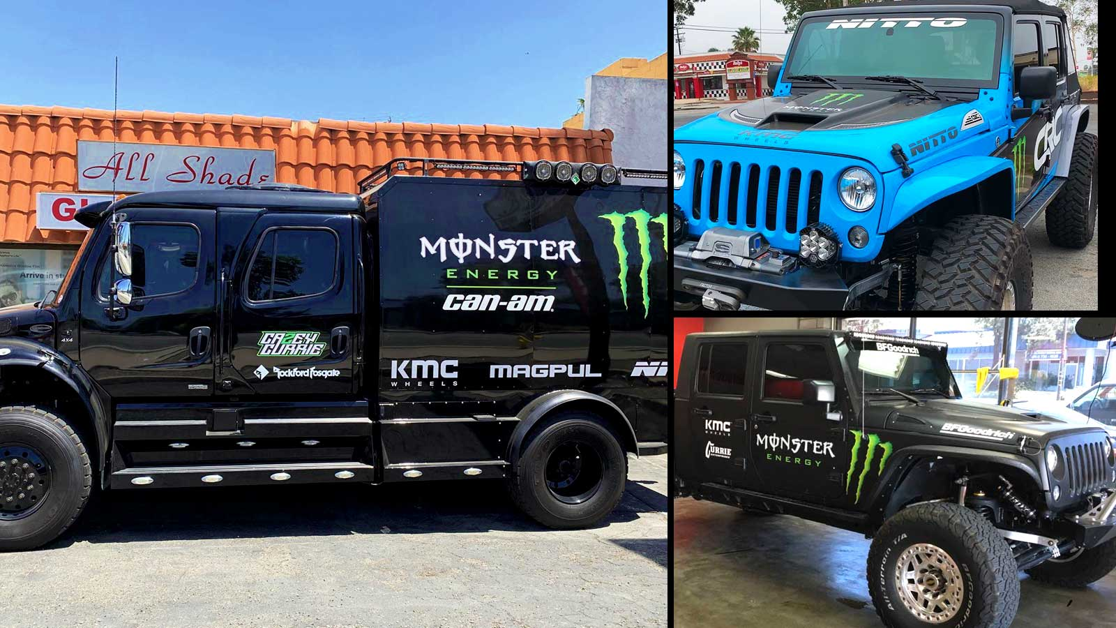 Monster Energy Drinks Window Tinting